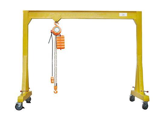 Dispositivos de elevación - grúa pórtco profesional