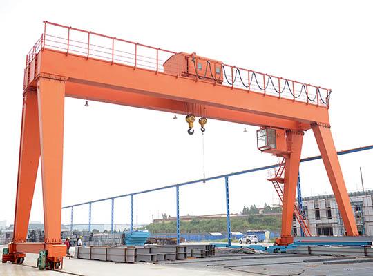 Puente Grúa Pórtico Birraíl Modelo AQ-MG
